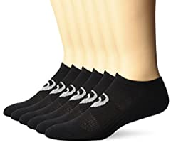 Soft sole cushioning and moisture management Breathable mesh knit on top of foot keeps feet cool and dry Anti-odor technology No show silhouette Seamless toe eliminates bulky toe seam and improves comfort