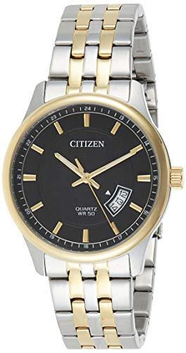 Citizen Analog Black Dial Men's Watch-BI1054-80E