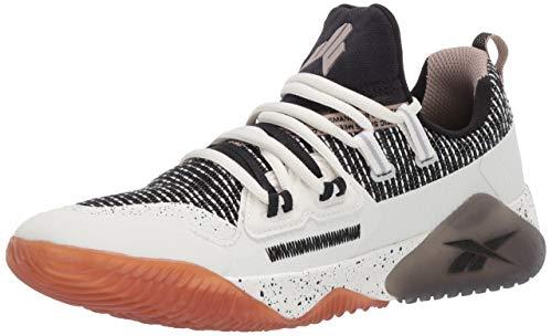 Reebok Boy's JJ III Running Shoe, Chalk/Black Rubber gum-03, 3.5 M US Big Kid