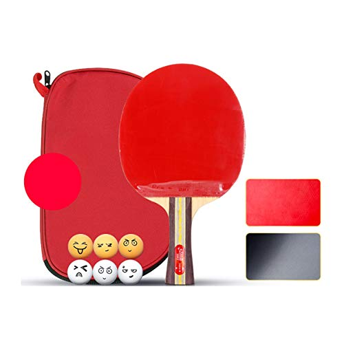 Buy Cheap CHENTAOCS Table Tennis Bat, Pen-Hold, Single Shot, Student Competition Table Tennis Racket...