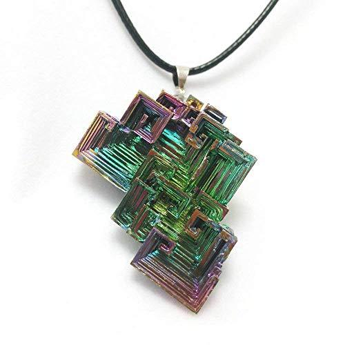 Bismuth Pendant Necklace Multi Color Bi Jewelry Chemistry Fashion...