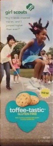 Girl Scout Toffee-Tastic Gluten Free Cookies