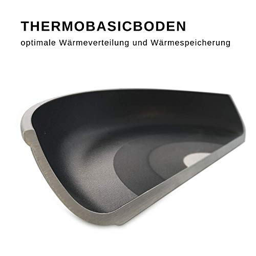 Lieblingspfanne Bratentopf rund 24cm, Aluminium Guss, Höhe 10 cm, INDUKTION - 4
