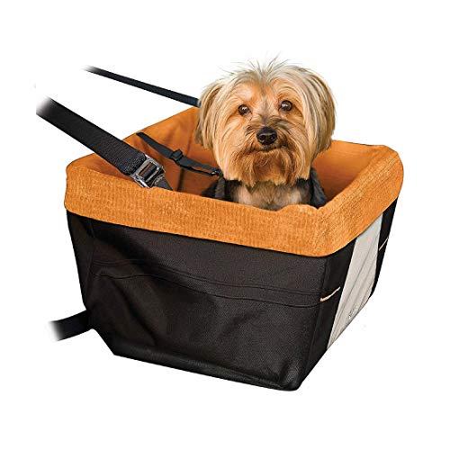 Gyj&mmm Haustier-Auto-Kindersitz für kleine Hunde Katzen, Wasserdichtes & Faltbare Hundesitzerhöhung Reisen-Auto-Sitztragetasche für Klein