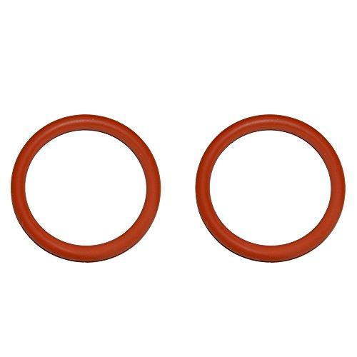 SW-K 2 Stück O-Ring Dichtung passend für Jura AEG Krups für die Brüheinheit Brühgruppe Anpresskolben Kolben