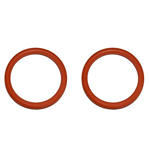 SW-K 2 Stück O-Ring Dichtung geeignet für Jura AEG Krups für die Brüheinheit Brühgruppe Anpresskolben Kolben