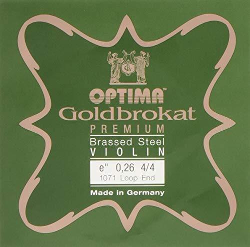 OPTIMA『ゴールドブロカットプレミアムブラスバイオリンE線4/4(G107126L)』