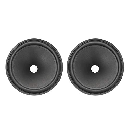 Lowest Prices! uxcell 8 inches Paper Speaker Cone Subwoofer Drum Paper 1 inches Coil Diameter with R...