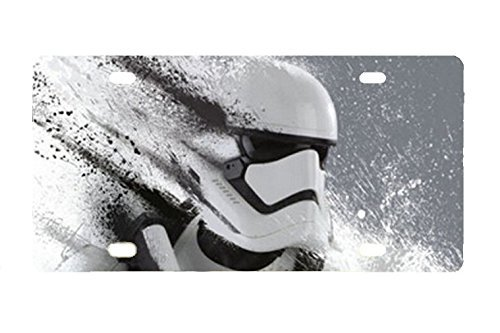 Stabiler Stormtrooper – Star Wars Metall License Plate Auto Tag