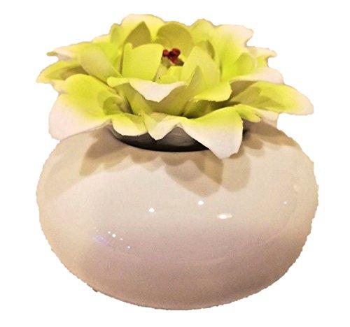 L'ANGOLO BARLETTA BOMBONIERE Battesimo Matrimonio Comunione PROFUMATORE Fiore Verde