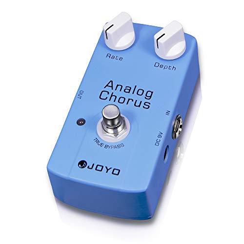 JOYO Analog Chorus Pedal Circuit-Chorus Tone with Classic BBD Creates Fresh and Extensive Chorus Effect for Electric Guitar True Bypass (JF-37)