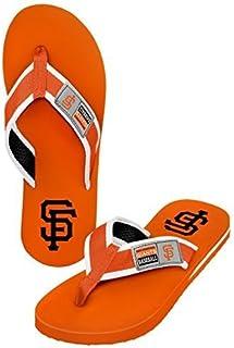 1100877adbc5 2015 MLB Baseball Mens Locker Label Contour Beach Summer Sandal Flip Flops