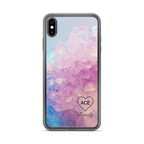 iPhone XR Pure Clear Case Cases Cover Ace Family Crystal Heart