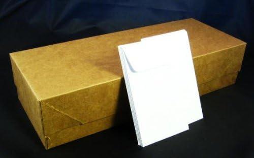 24 lb #3 White Coin Envelope Fashionable - 2 2