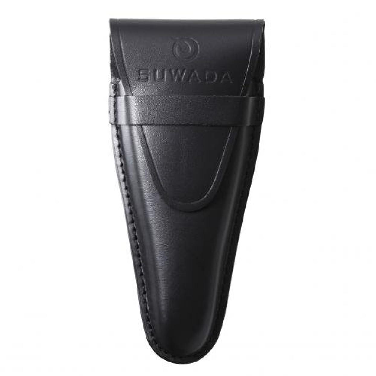 郊外警戒マルクス主義【SUWADA】 爪切り用本革ケースクラシックL用 色=ブラック