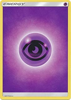 Pokemon Cards - LOT OF 10 PSYCHIC ENERGY Cards (purple)