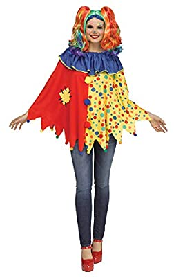 Fun World Fun Adult Costume Character Poncho Adult One Size