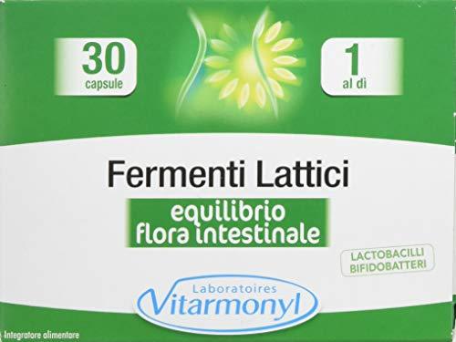 Vitarmonyl FERMENTI LATTICI ● Integratore 30 capsule ● Equilibrio della flora Intestinale ●...
