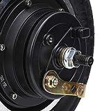 HAOX Motor de Cubo, Motor de Scooter eléctrico Motor de Scooter de 350 W, con Cable de Pasillo Duradero para Silla de Ruedas de Bicicleta Plegable
