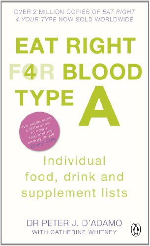 Eat Right for Blood Type A: Maximise your health with individual food, drink and supplement lists for your blood type (English Edition)