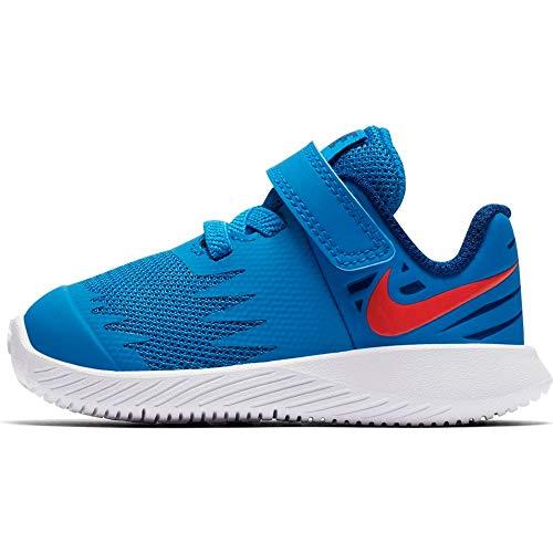 Nike Jungen Star Runner (TDV) Niedrige Hausschuhe, Mehrfarbig (Photo Blue/Red Orbit/Indigo Force/White 408), 21 EU
