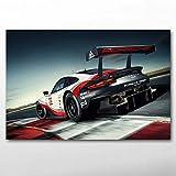 ULOVEH Leinwand Poster und Drucke Porsches 911 RSR