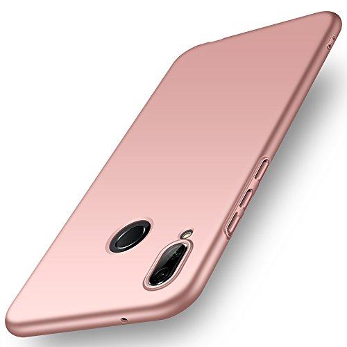 ORNARTO Funda Huawei P20 Lite, HW P20 Lite Carcasa [Ultra-Delgado] [Ligera] Mate Anti-arañazos y Antideslizante Protectora Sedoso Caso para Huawei P20 Lite(2018) 5.84' Oro Rosa