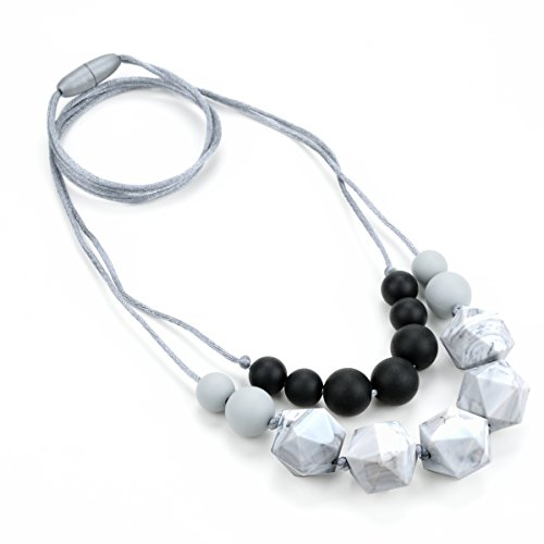 lofca Baby Teething Necklace for Mom to Wear-Great Teether...