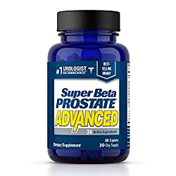 professional Excellent Prostate Supplements for Men Super Beta Prostate – Reduces Visits to the Bathroom, Improves Sleep,…