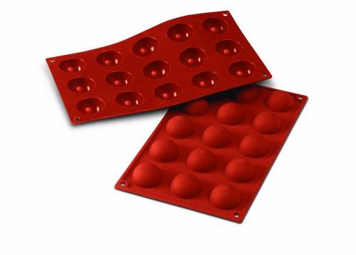 Silikomart 20.005.00.0060 SF005 Moule Forme Demi-Sphères 15