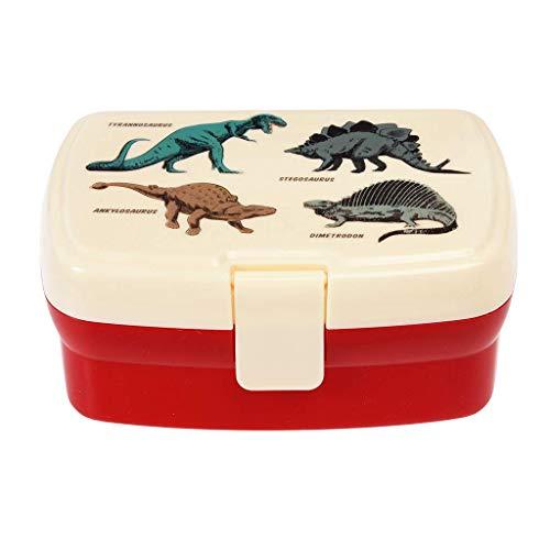 Rex London Fiambrera con bandeja, diseño de dinosaurios