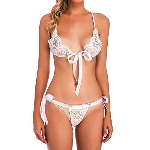 DSQK Bodis Lencería para Mujer Ropa Interior Camisón Perspectiva Lencería Erótica Sexy Body De Mujer Disfraces De Porno Íntimos Transparentes Body De Mujer Productos Sexuales-1_Uno_Tamaño