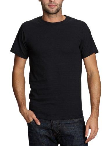Fruit of the Loom 112120 Herren T-Shirt, Gr. 58 (XXXL), schwarz (schwarz)