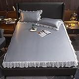 BOLO Mezcla de algodón de poliéster suave y cómodo, transpirable, 180 x 200 cm+30 cm, 48 x 74 cm3 piezas