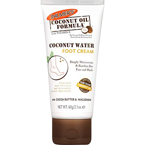 Palmers Coconut Oil Water Foot Cream 60G (3580-6), Único, Estándar