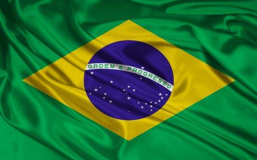 Géant de drapeaux du monde Brésil