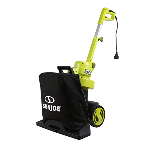 Sun Joe Walk-Behind 3-in-1 Electric Blower, Leaf Vacuum, and Mulcher