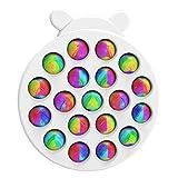 Orgrul Pop-pop Spielzeug Fidget Toy, Push Pop Spielzeuge, Push Up Bubble Antistress Simple Dimple...