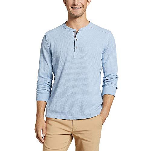 Eddie Bauer Men's Eddie's Favorite Thermal Henley Shirt
