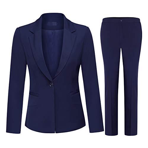 Spirio Mens Workwear Lapel Wedding Casual One Button Blazer Jacket Suit Coat