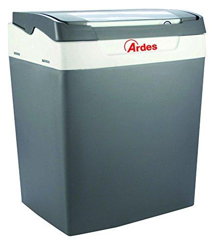 Ardes AR5E30A Frigo Elettrico Portatile Pratiko 30 Litri Con Cavo Per Casa E Cavo Con Spina Accendisigari Per Auto Coperchio Removibile