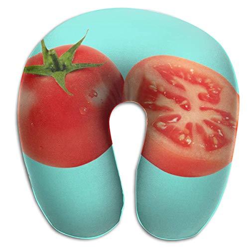 Almohada en Forma de U, Cuello, Tomate, Viaje Fresco, Almohada Multifuncional, Coche, avión