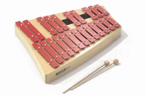 Sonor NG31 Glockenspiel Xylophon Alt chromatisch mit Buchenholz Resonator incl. Schlägel