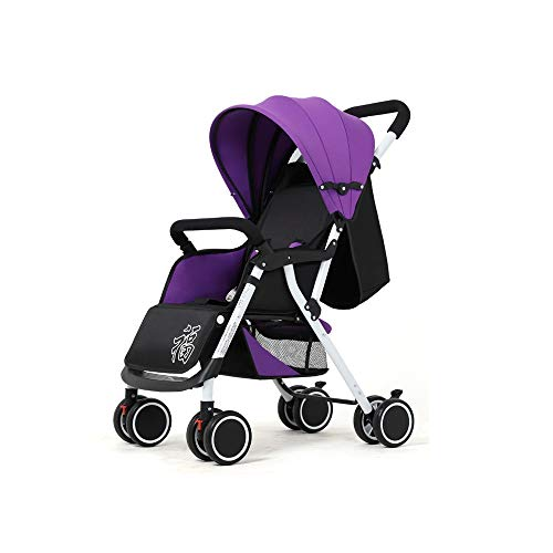 Why Should You Buy Baby cart Can sit Reclining Light fold Four Seasons Universal Weighing 15KG Suita...