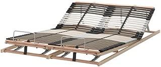 Ikea Queen Size Slatted bed base, adjustable , 22210.232611.812