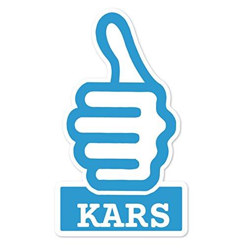 JOllify Sticker - KARS - 10cm - Design: thumbs up - duim hoog