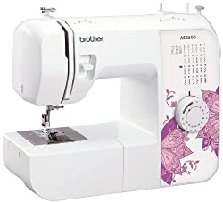 25 Stitch Sewing Machine Drop in bobbin LED Lighting - never replace a bulb Includes Stretch Stitches & Stitch Length Adjustment 4 step button hole