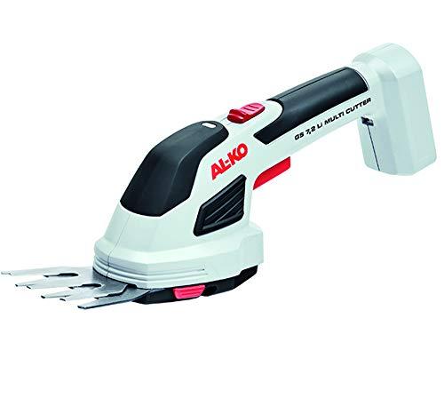 AL-KO GS 7,2 Li akumulatorowe nożyce do trawy i krzewów, wielofunkcyjne nożyce ogrodowe z akumulatorem do cięcia trawy i przycinania krawędzi dla relaksujących prac ogrodowych