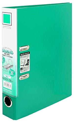 コクヨ ファイル レバッチファイル A4 二穴 緑 フ-AL280G