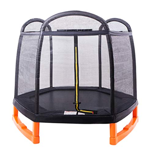 Tennis Jumping Trampoline Children's Home Indoor With Guard Net Spring Trampoline Children With Guard Net Spring Baby Bungee Jumping Outdoor Jumping Bed